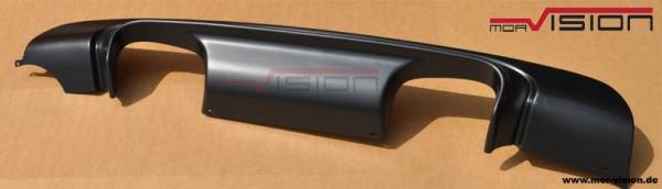 Diffusor Performance 4 Rohr - für BMW e46 M-Paket2 - ABS - Schwarz