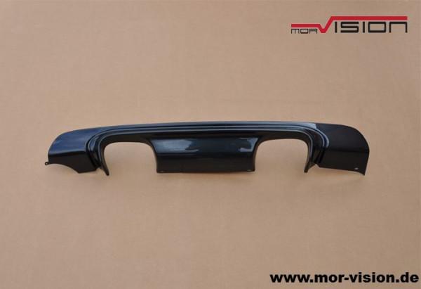 Diffusor 4 Rohr - für BMW e46 M-Paket2 - ABS - Carbon Optik